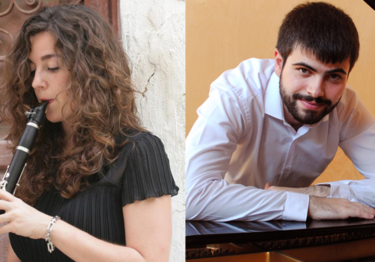 event image:Julia Raga Pascual, clarinet. Victor Braojos, piano. Autumn Concerts. 05/11/2019. C: M. Rector Peset. 19.00h